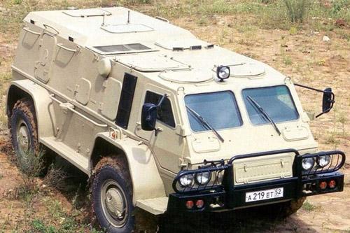 Army Guide - ГАЗ-39371 Водник, Бронированный автомобиль