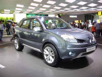 Renault Koleos – французский комфорт.