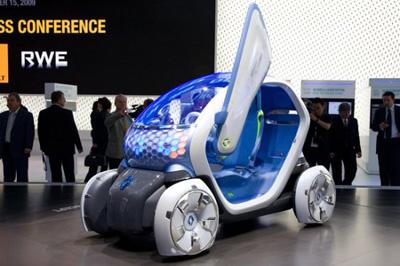Электромобиль Renault Twizy ZE Concept.