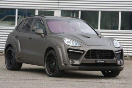 Ателье FAB Design изменило Porsche Cayenne