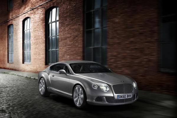 New Bentley Continental GT.