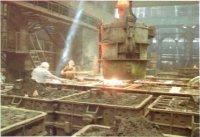 Начал работу цех по производству вагонного литья