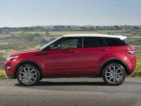 Тест-драйв внедорожника Range Rover Evoque.