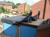 Ремонт крыши гаража: несколько рекомендаций.