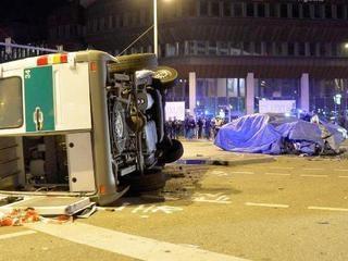 """Еще не вышедшая """"семерка"""" BMW попала в первую аварию"""
