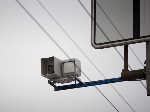 Московские камеры научатся штрафовать за езду по обочине