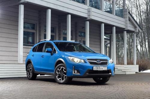 Обновленный Subaru XV оказался дешевле на 100 тыс. рублей