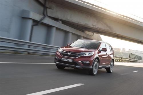 Honda CR-V подорожал на 130 тыс. рублей