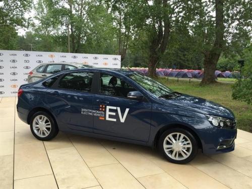 Lada Vesta стала электрокаром