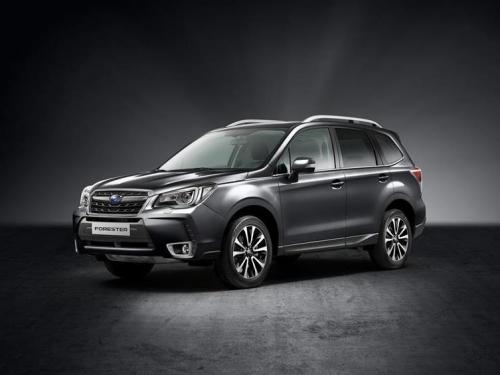 Subaru привезла в Россию лимитированный Forester