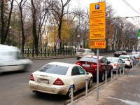 Московские власти не планируют штрафовать за закрытые на парковке номера