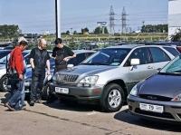 Покупателей подержанных автомобилей заманят в автосалоны