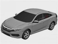 В Сети появились новые фотографии серийного Honda Civic