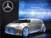 Mercedes-Benz показал в Токио беспилотник с водородным двигателем