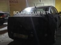 Новый Hyundai Solaris показали на фото