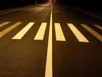 Разметка московских дорог стала «стеклянной»