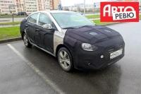 Новый Hyundai Solaris заметили в Санкт-Петербурге